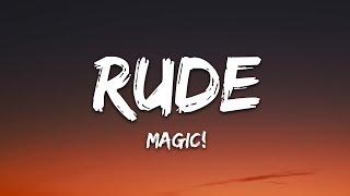 MAGIC! - Rude