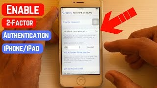 How To Turn on Two-Factor Authentication on iPhone