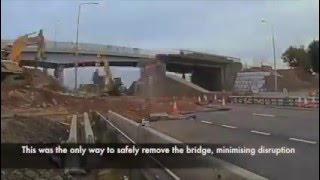 Thumbnail of Queensferry Crossing Road Bridge Demolition video