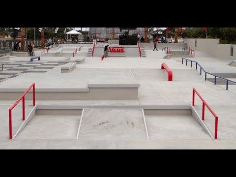 PERFECT Skatepark - Vans Huntington Beach 2014