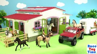 Schleich Horse Club Stable Playset