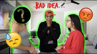 My GIRLFRIEND Meets My EX GIRLFRIEND(BAD IDEA)