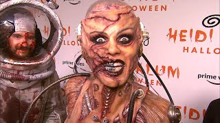 Heidi Klums Out-of-This-World Halloween Costume: Watch And Hear All About Her Look! (Exclusive)