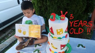 Bazels 3rd Birthday Party! | The Very Hungry Caterpillar Birthday Theme