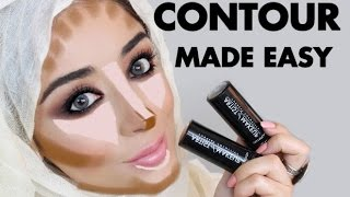 HOW TO CONTOUR - EASY STEP BY STEP CONTOURING TUTORIAL