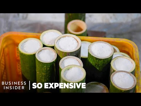 Bamboo Salt - the MOST Expensive Salt in the World