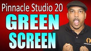 Pinnacle Studio 20 Ultimate   Green Screen Chroma Key Tutorial