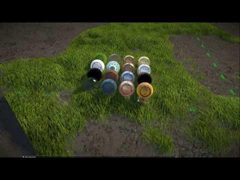 Предрасчёт рейкаста для эффективного рендеринга травы и меха