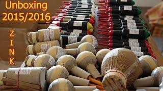 Zink Feuerwerk Kat 4   Unboxing Silvester 2015/2016 (Full-HD/50fps)