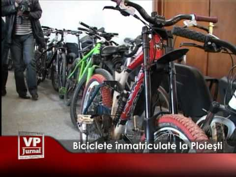 Biciclete înmatriculate la Ploieşti
