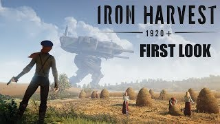 FIRST LOOK: Iron Harvest - Echtzeitstrategie mit Steampunk-Mechs