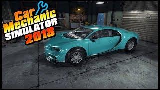 Car Mechanic Simulator 2018 - 1.2 MILLION BUGATTI CHIRON SOLD!!