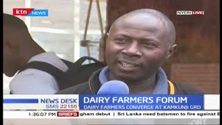 Dairy farmers Converge at Kamkunji grounds for Dairy farmers forum