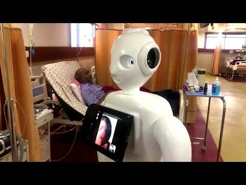 Meet the robot connecting patients to loved ones
