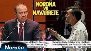 Intentan Censurar a Noroña en Comparecencia de Navarrete Prida