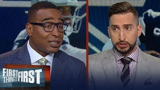 Nick and Cris explain how Saints defense helped get the win over Cowboys | NFL | FIRST THINGS FIRST