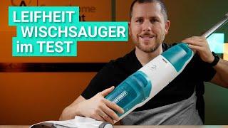 Leifheit Regulus Aqua PowerVac im Test - Das leistet der günstige aber laute Wischsauger wirklich!