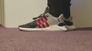 online retailer 7edf8 e7461 Adidas Overkill EQT Support FUTURE Early Review + On-Foot! Most comfortable  boost shoe