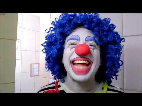 Maquiagem Palhaço Pirulito
