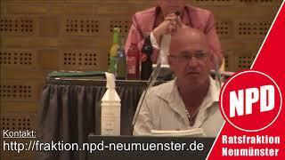 """NPD-Wortmeldung zum Antrag """"Hilfe für Geflüchtete aus Afghanistan."""" (Ratssitzung 14.9.2021)"""