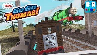 Thomas & Friends: Go Go Thomas! - Toby Vs Percy | Percy Epic Jump Over Toby