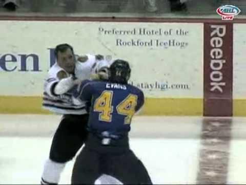 Kyle Hagel vs. Brennan Evans