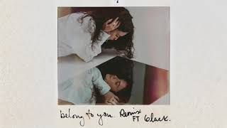 Sabrina Claudio    Belong To You (ft. 6lack) [Remix]