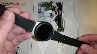 Limmex Notruf Uhr Smartwatch.de  - Unboxing [DEUTSCH]