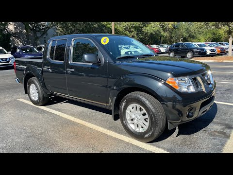 Certified Pre-Owned 2019 Nissan Frontier Crew Cab 4x2 SV Auto
