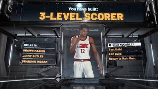 NBA 2K20 3 Level Scorer (Two-way build)