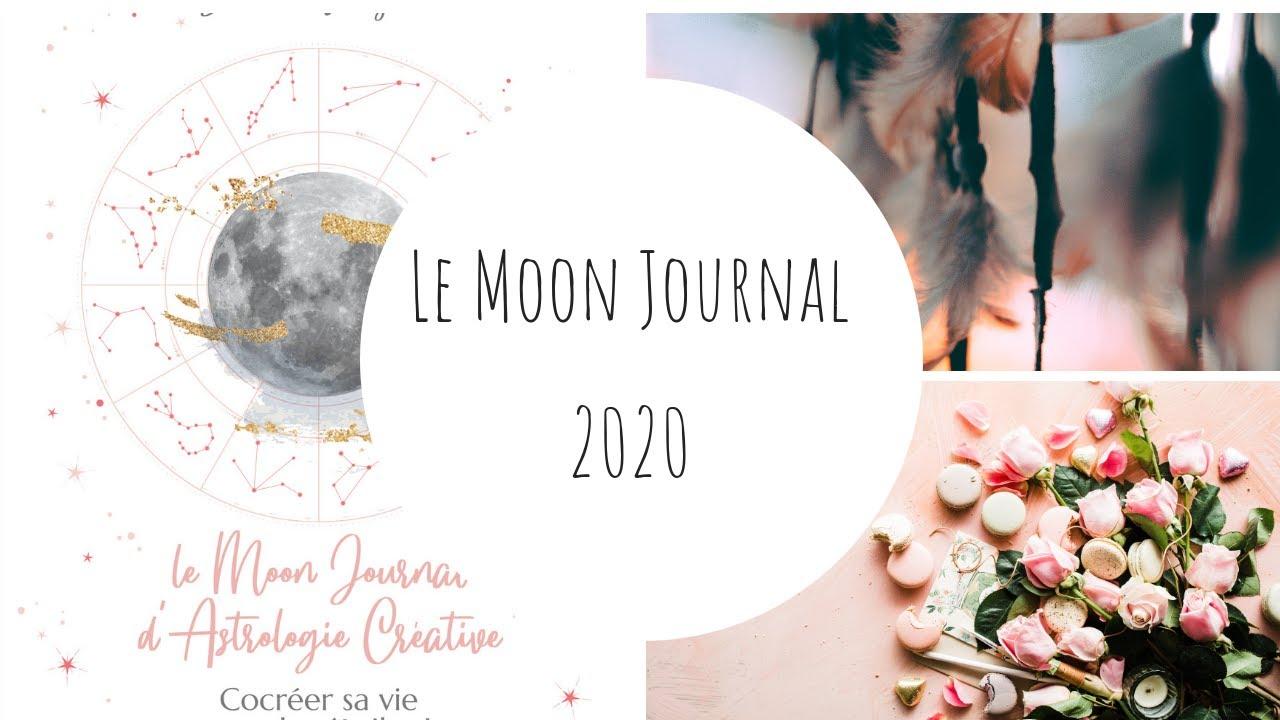 Moon Journal 2020 - Journal d'Astrologie créative