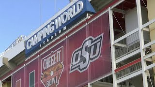 Camping World Stadium hosts Cheez-It Bowl and thousands of fans