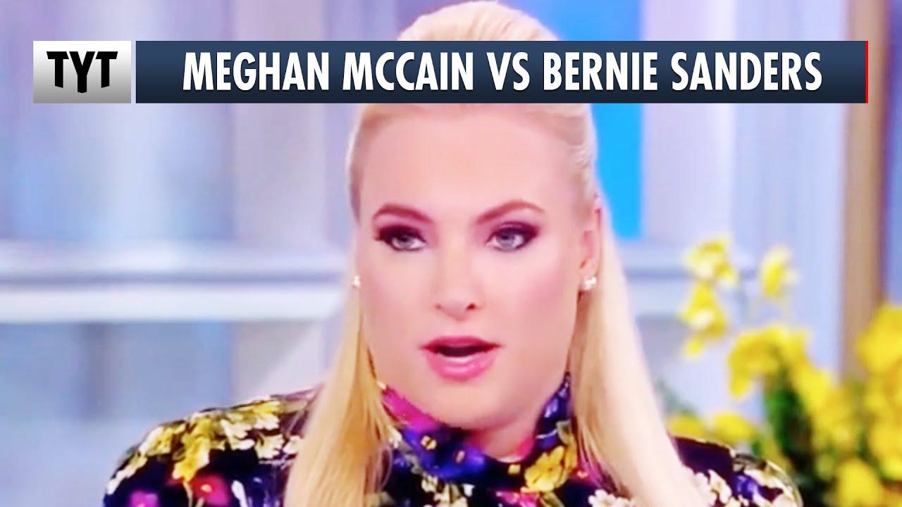 Meghan McCain STILL Whining Bernie Bros thumbnail