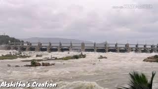 Mettur Dam with 120 feet   Mettur Dam with 2.05 Lakh water outlet   மேட்டூர்அணை 120அடி நீர்மட்டம்