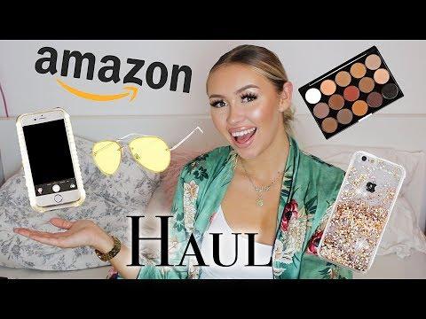 XL AMAZON HAUL - Kardashian Phonecase, Naked 3 DUPE, etc. | PaulinaMary