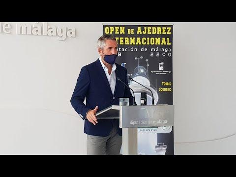 Presentación del III Open Internacional de Ajedrez Diputación de Málaga