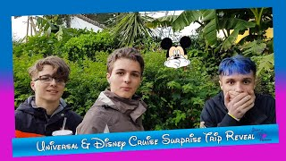 Disney Surprise Trip Reveal | Thorpe Park | Fright Nights