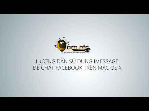 Làm thế nào để chat Facebook trên Mac dùng iMessage - How to use Facebook with iMessage