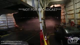 12-14-18 Edmonds, Washington - Waves Completely Engulf Ferry