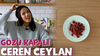 Ceren Ceylan Yiyeceklerin Kaçını Bilebildi? - Gözü Kapalı 3. Sezon #10 | Yemek.com