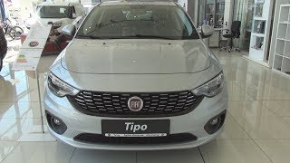Fiat Tipo HB 1.4 Pop 95 Hp (2018) Exterior And Interior