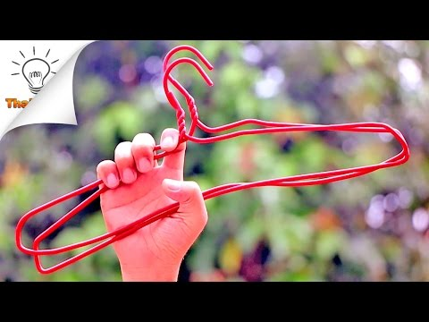 20 Wire Hangers Life Hacks Everyone Should Know