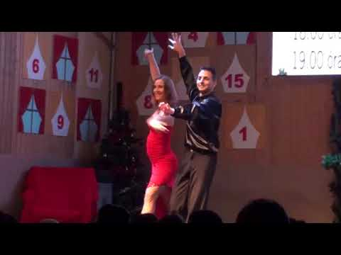 Adventi fellépés: rumba-cha-cha-cha mix