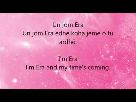 Era İstrefi Bonbon - Lyrics English