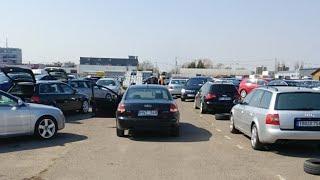 Авторынок в Литве (Каунас) смотрим  BMW E39 и AUDI