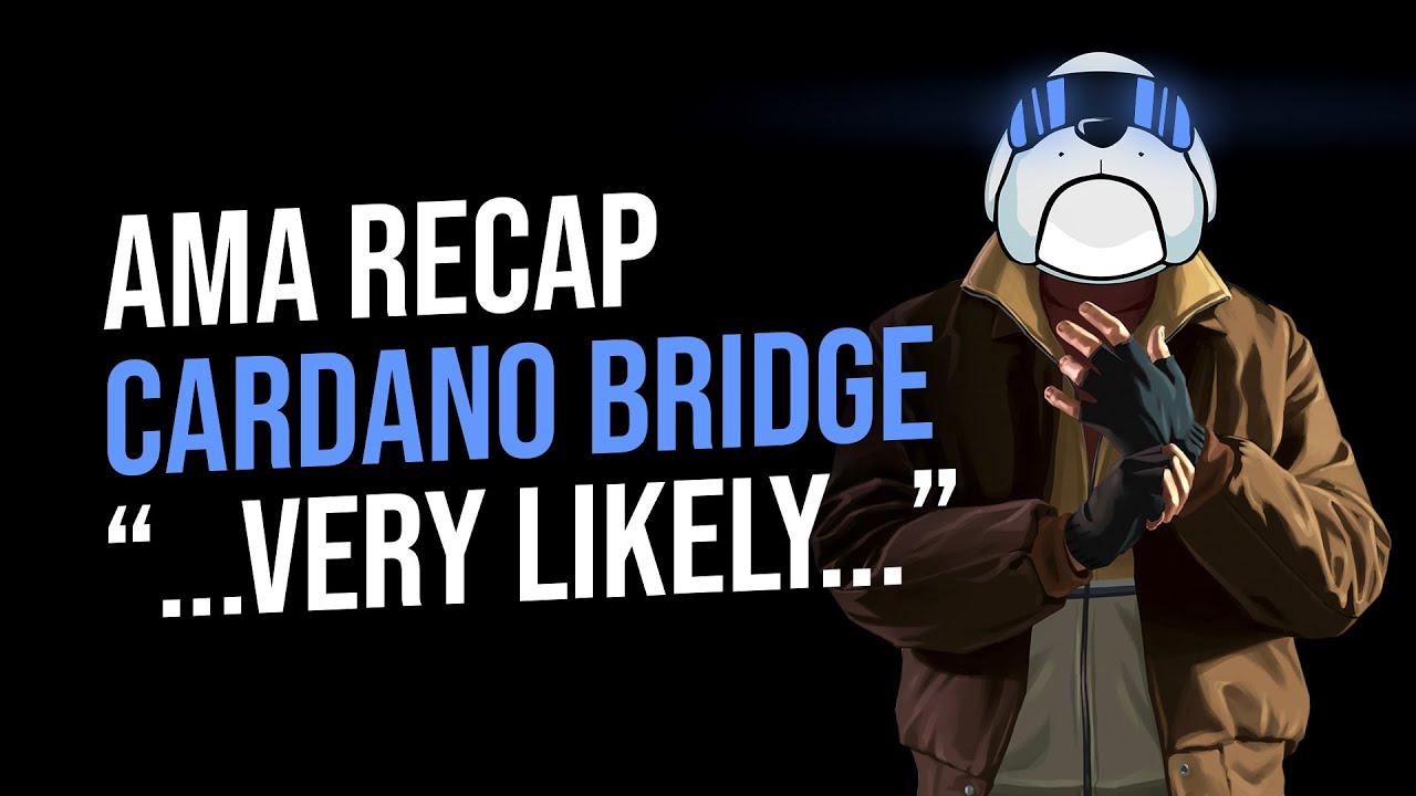 """Hoge Cardano Bridge """"Likely"""" Marketing AMA Wrap-up! $Hoge Financing News/ Updates"""