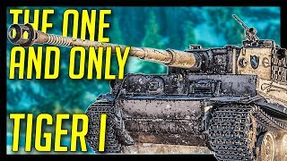 ► The Legendary TIGER I - World of Tanks Tiger I Gameplay