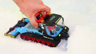 Train, Concrete Mixer, Fire Truck, Tractor, Cars & Excavator Construction Toy Vehicles for Kids