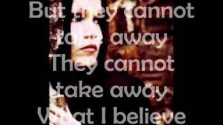 Tarja Turunen - Underneath Lyrics