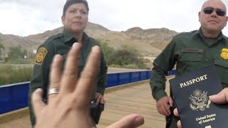 Border Patrol Run-in While Magnet Fishing Along the Border